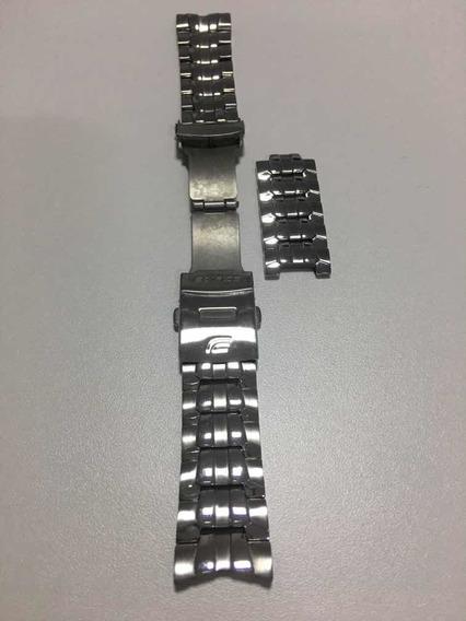 Pulseira Relógio Casio Edifice Aço Inox