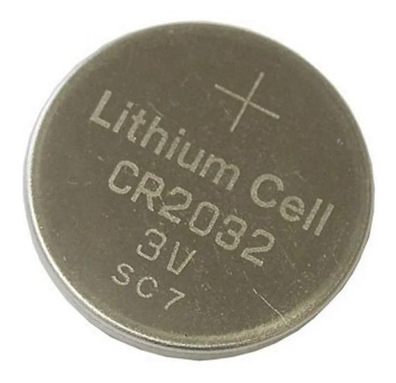 Bateria Cr2032 3v Lithium - 5 Unid. - Relógio, Calculadora
