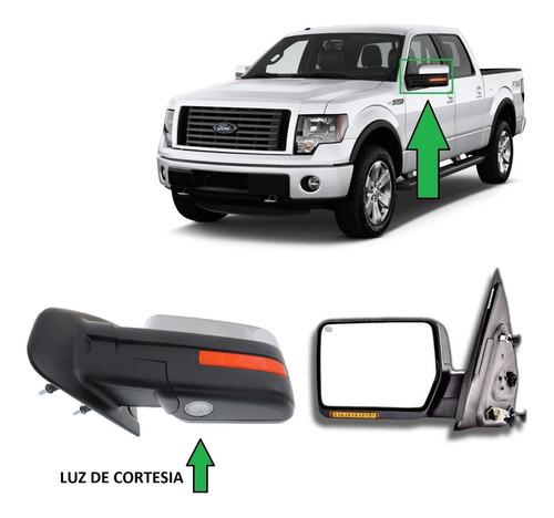 Espejo Izq Ford F150 2009 Al 14 Elec-crom-defro-luz-abatible