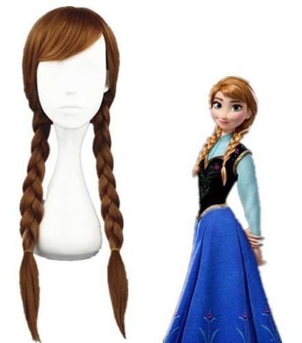 Peruca Princesa Ana - Infatil, Cosplayr