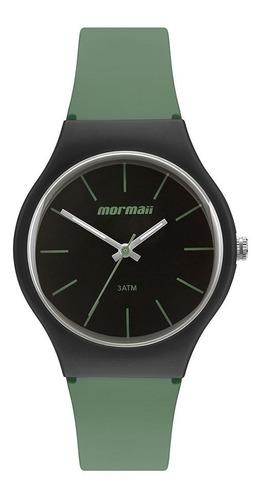 Relógio Mormaii Feminino Mo2035jv/8v Analogico Verde