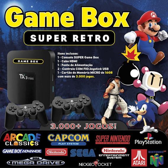 Game Box (3.000 Jogos) Selecionados