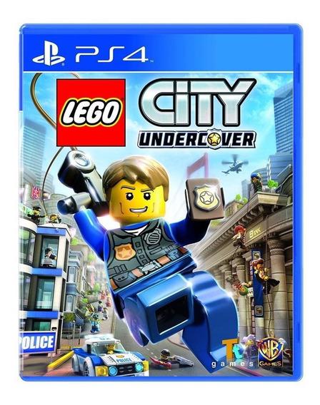 Jogo Mídia Física Lego City Undercover Para Playstation4 Ps4