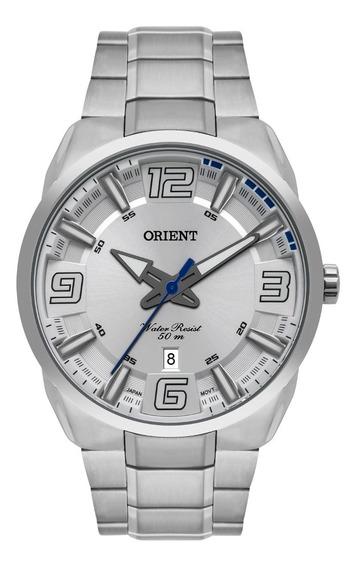 Relógio Orient Masculino Mbss1359 S2sx Prata Analogico