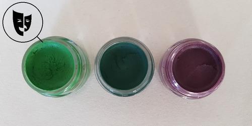 Base Cremosa Maquillaje Titi Mini Pote 5gr Verde Esmeralda
