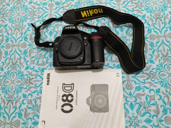 Câmera Fotográfica Dslr Corpo Nikon D80