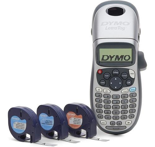 Pack 4 Rotuladora Dymo Letratag Lt100h Plus Etiquetadora W01