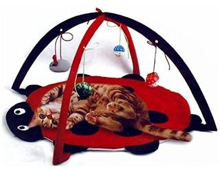 Petty Love House Cat Centro De Actividades Con Bolas De Jugu