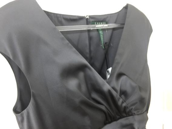 Ralph Lauren Polo Mujer Vestido Fiesta Madrina 100% Boda