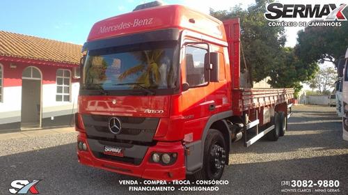 Imagem 1 de 12 de Mercedes-benz Atego 2426 Leito Teto Alto