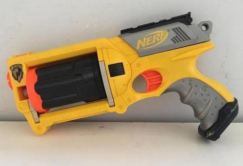 Imagem 1 de 2 de Arma De Brinquedo Maverick Rev - 6 - Nerf -nao Tem Os Dardos