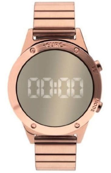 Relógio Euro Feminino Rose Espelhado Eujhs31bac/4d Original