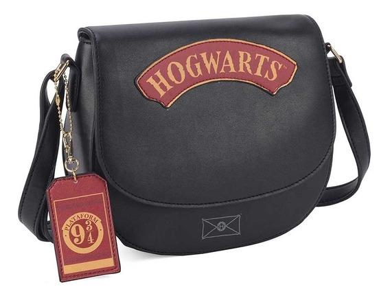 Bolsa Transversal Hogwarts - Harry Potter - 9 3/4 - Oficial