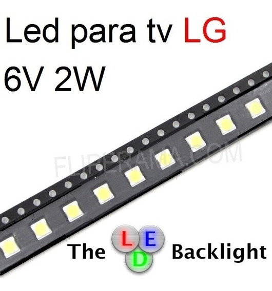 Led 3535 Smd 2w 6v Tv Lg 47lb5600 _80 Peças