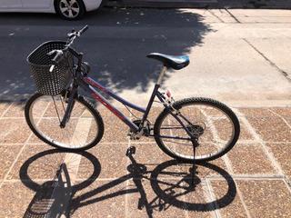 Bicicleta Con Cambios, Color Azul, Rodado 26