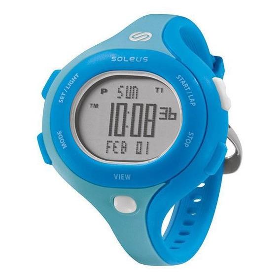 Relógio De Pulso Soleus Chicked - Azul Claro/azul