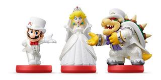 Amiibo Mario Odyssey Peach, Mario Y Bowser (en D3 Gamers)