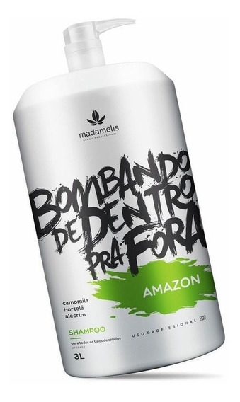 Shampoo Lavatório Amazon Madamelis 3 Litros