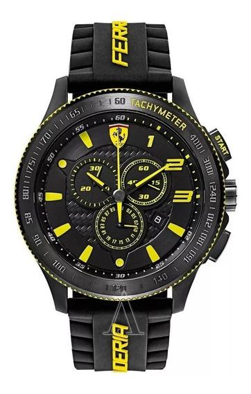 Relógio Masculino Ferrari Modelo Novo E Original