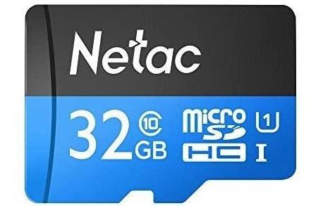 Cartão De Memória Netac P500 Class 10 32g Micro
