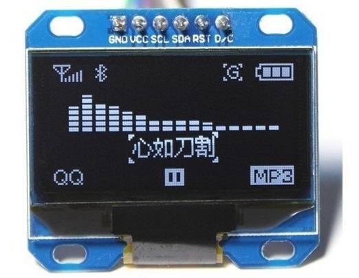 Display 0.96 Oled 128x64 Spi Arduino Raspberry Arm