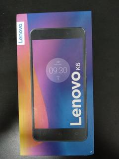 Celular Lenovo K6 Prata 16 Gb Usado