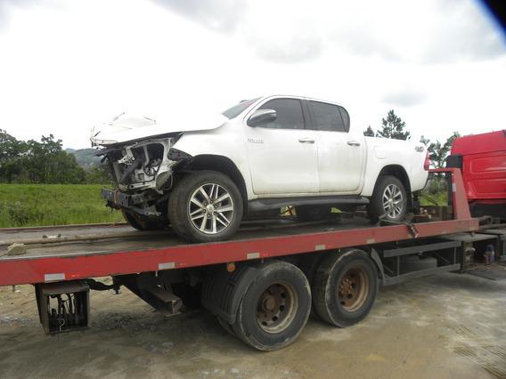 Sucata Toyota Hilux 2.8 Tdi Srx 2018 4x4 Aut. 4p