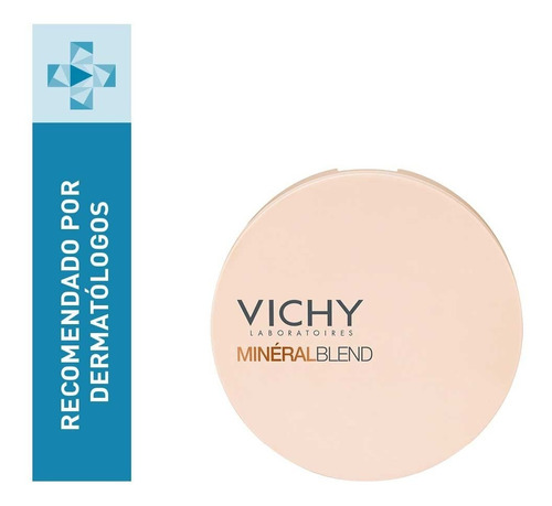 Polvo Compacto En Mosaico Vichy Mineralblend Tono Tan 9g