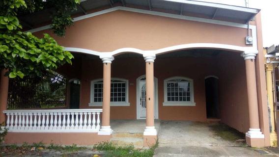 Se Alquila Casa En La Siesta De Tocumen -cr