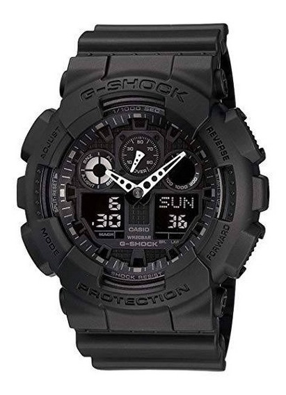 Relógio Casio G Shock Ga100-1a1dr. 200 Metros. 100% Original.
