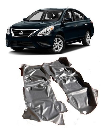 Capa Carpete Assoalho Em Vinil Verniz Para Nissan Versa