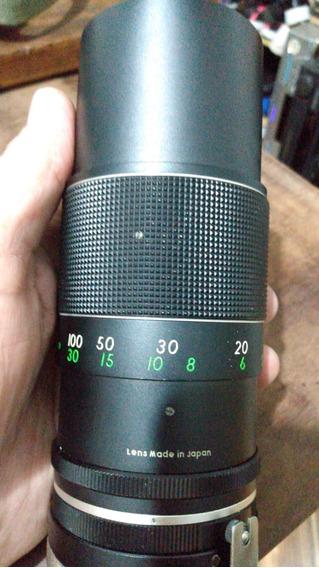 Lente Canon 200mm (precisa Manutenção)