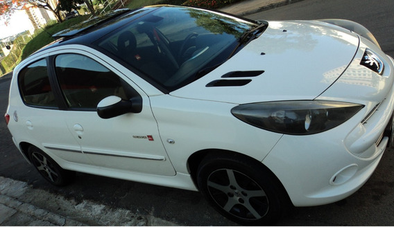 Peugeot 207 Quiksilver Flex 1.6, Branco, Teto Solar