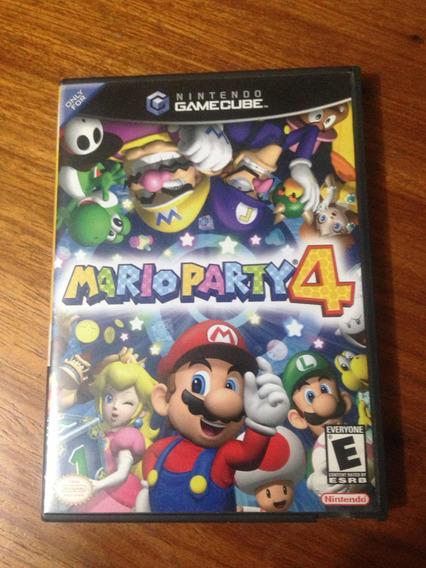 Mário Party 4 Gamecube
