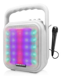 Parlante Portatil Bluetooth Panacom Sp 3052cm Karaoke + Mic