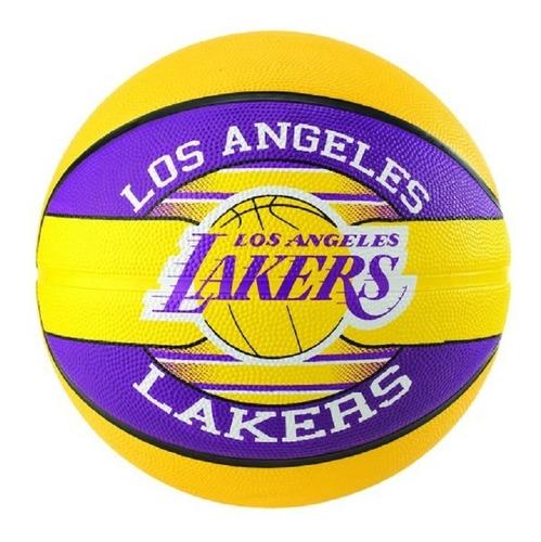 Bola De Basquete Nba Los Angeles Lakers Spalding