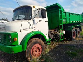 Caminhão Mb 1520 6x2 C/ Basculante 10 Mts³ Ano 1988