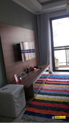 Apartamento Com 3 Dormitórios À Venda, 65 M² Por R$ 365.000,00 - Vila Baeta Neves - São Bernardo Do Campo/sp - Ap0367