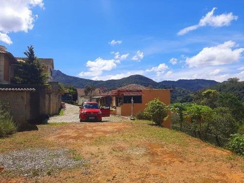 Imagem 1 de 8 de Terreno Com 400 M² Com Platô Em Condomínio Na Cascata Do Imbuí. - Te00356 - 68752465