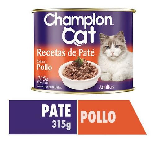 Champion Cat Recetas De Paté Pollo 315g