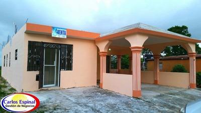 Casa Nueva En Venta En Verón Punta Cana 7007