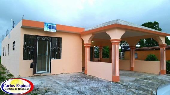 Casa Nueva En Venta En Verón Punta Cana
