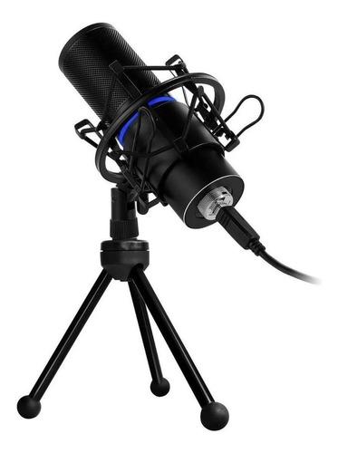Micrófono Game Factor MCG700 condensador cardioide negro