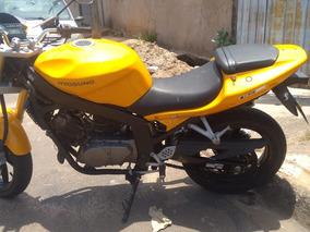 Vendo Moto Comet 250cc Amarela Kasinski Leia A Descrição