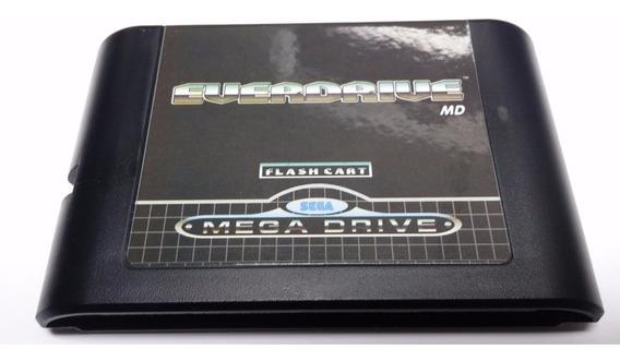 Cartucho Mega Drive Genesis Everdrive + Brinde Cartão Jogos