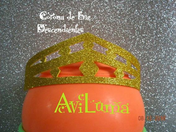 Souvenir Corona Tiara Vincha Evie Descendientes Aviluma