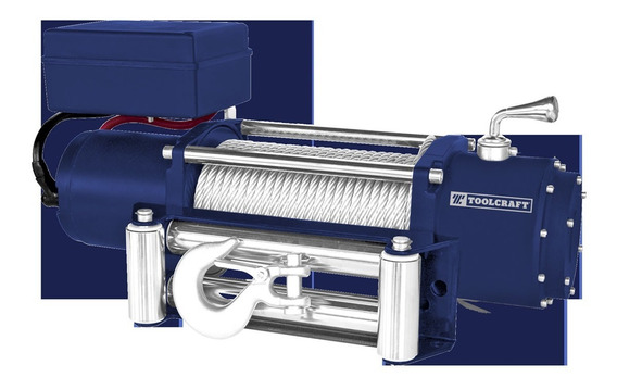 Winche Eléctrico 12v 12000lb / 5440 Kg Tc4395 Toolcraft
