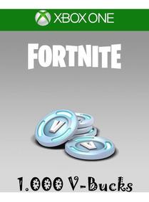 Fortnite 1.000 V-bucks - Funciona No Pc E No Xbox One