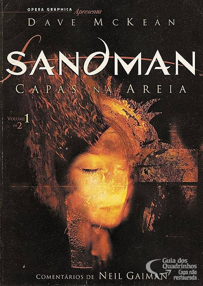 Sandman - Capas Na Areia N° 1