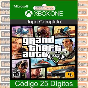 Gta 5 Em Código De 25 Dígitos Oficial Para Xbox One